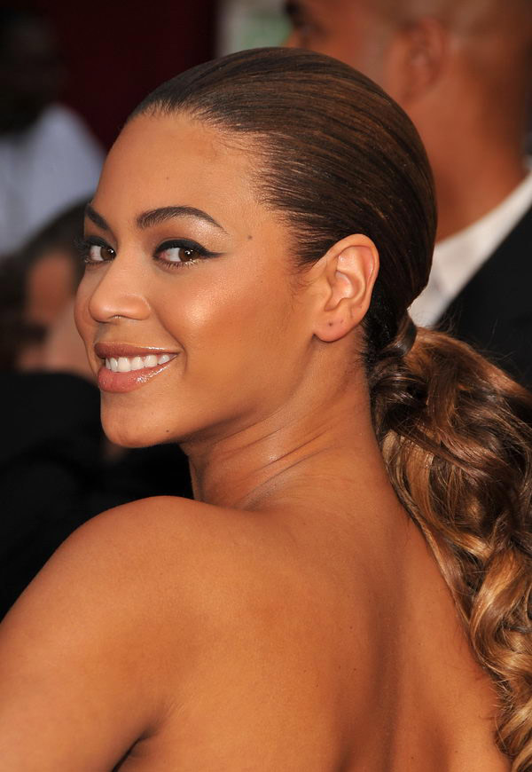 beyonce black dress oscars 2009 5