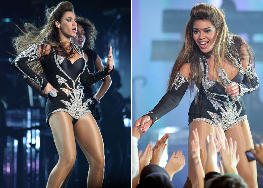 Beyonce concert Thierry Mugler constumes