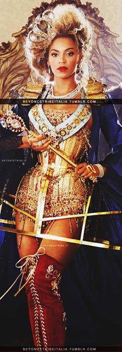To Bey Or Not To Bey In Vogue US March 2013?