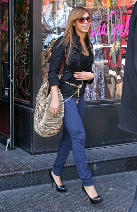 Beyonce DvF Stephanie bag 2