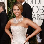 Beyonce Elie Saab dress Golden Globe Awards 2009 2