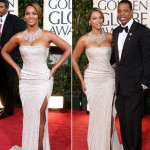 Beyonce Elie Saab dress Golden Globes 2009