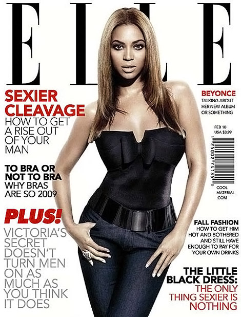 Beyonce Elle fake cover