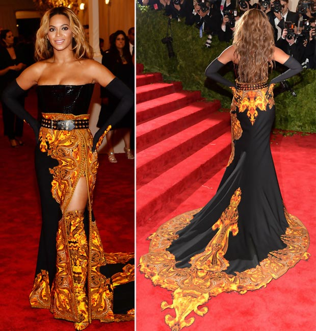 2013 met gala fashion beyonce in givenchy dress stylefrizz