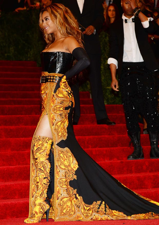 Beyonce Givenchy outfit 2013 Met Gala
