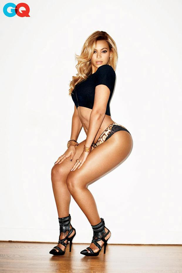 Beyonce GQ Magazine February 2013 pictorial Terry