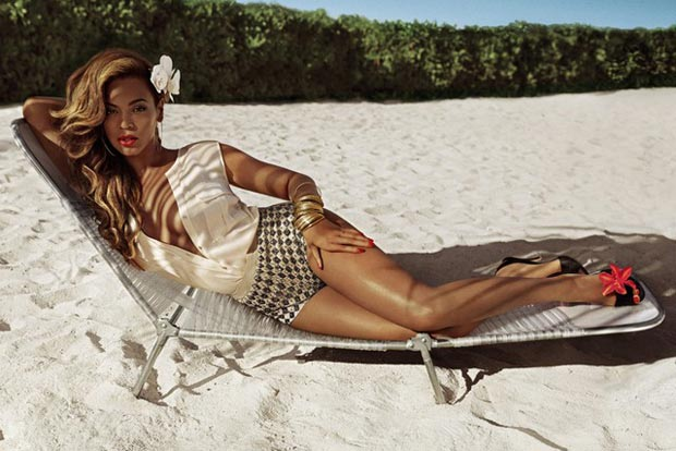 Beyonce H and M Summer 2013 ad campaign