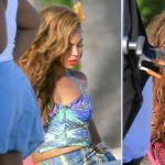 Beyonce H and M campaign beach Bahamas