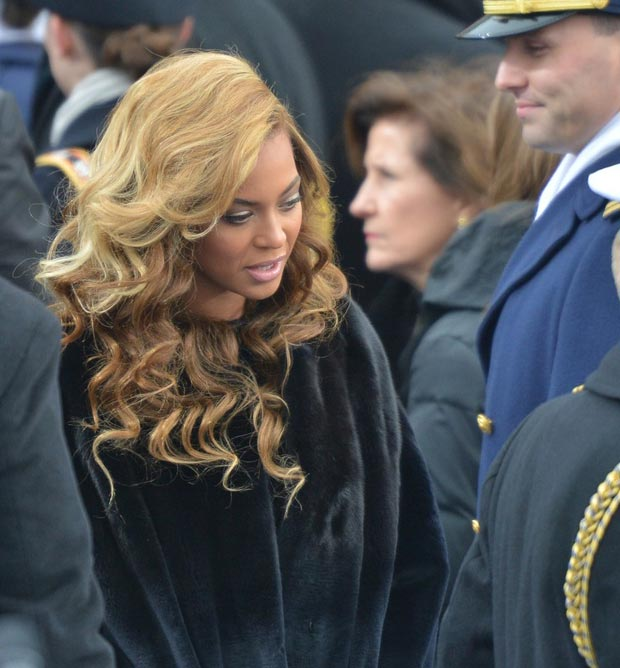 Beyonce hair Inauguration Day