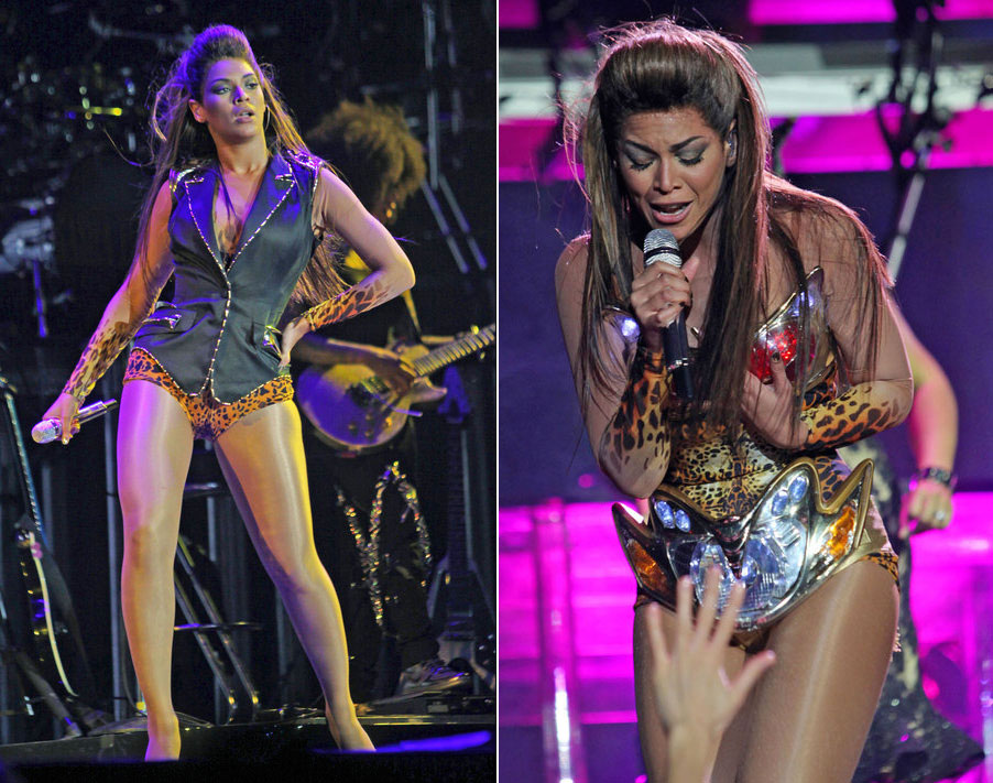 Beyonce I Am tour Thierry Mugler constumes