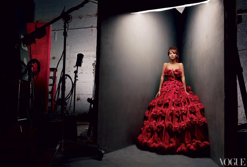 Beyonce in McQueen Vogue pictorial