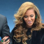 Beyonce Inauguration Day emerald green Lorraine Schwartz jewelry