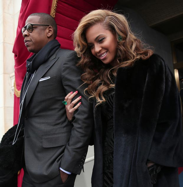 Beyonce Jay Z Inauguration Day Outfits