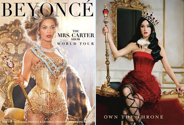 Beyonce Katy Perry reigning Queens