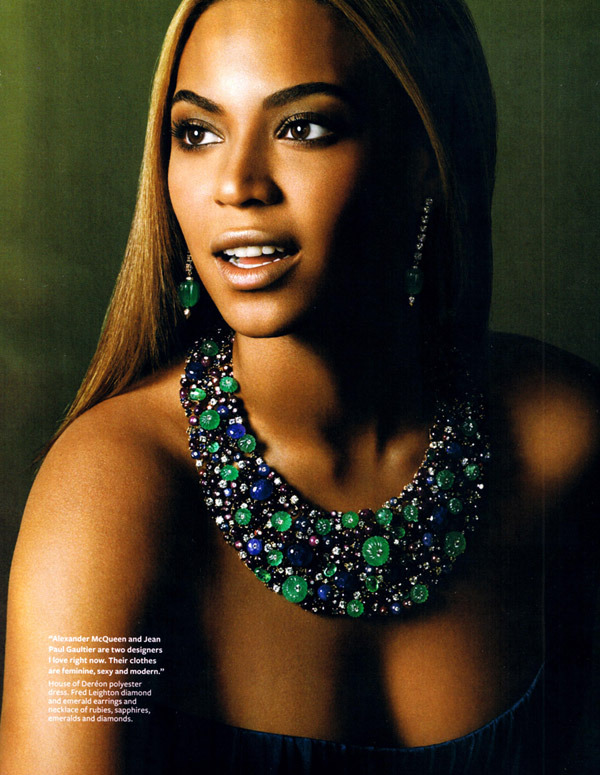 Beyonce Knowles Does Instyle Magazine In November 2008 Stylefrizz