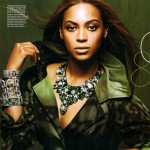 Beyonce Knowles Instyle magazine November 2008 5
