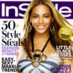 Beyonce Knowles Instyle magazine November 2008 cover