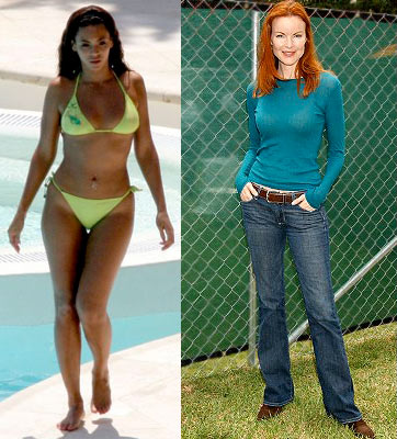 Beyonce, Marcia Cross