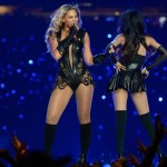 Beyonce Michelle Williams Super Bowl costumes Rubin Singer