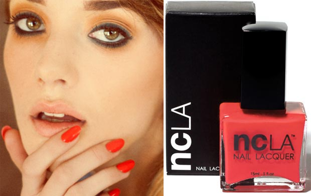 Beyonce's Inauguration Performance Nails: NCLA Nail Lacquer