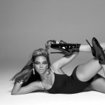 Beyonce Sasha Fierce picture with robo glove and high heels