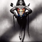 Beyonce Sasha Fierce pictures Thierry Mugler Motorcycle Top