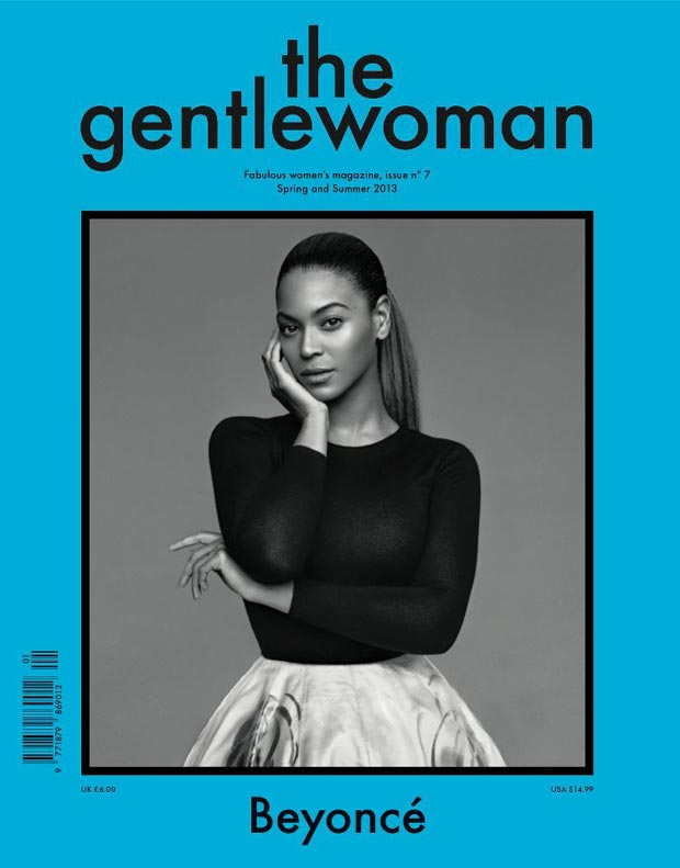Beyonce The Gentlewoman Spring Summer 2013 cover