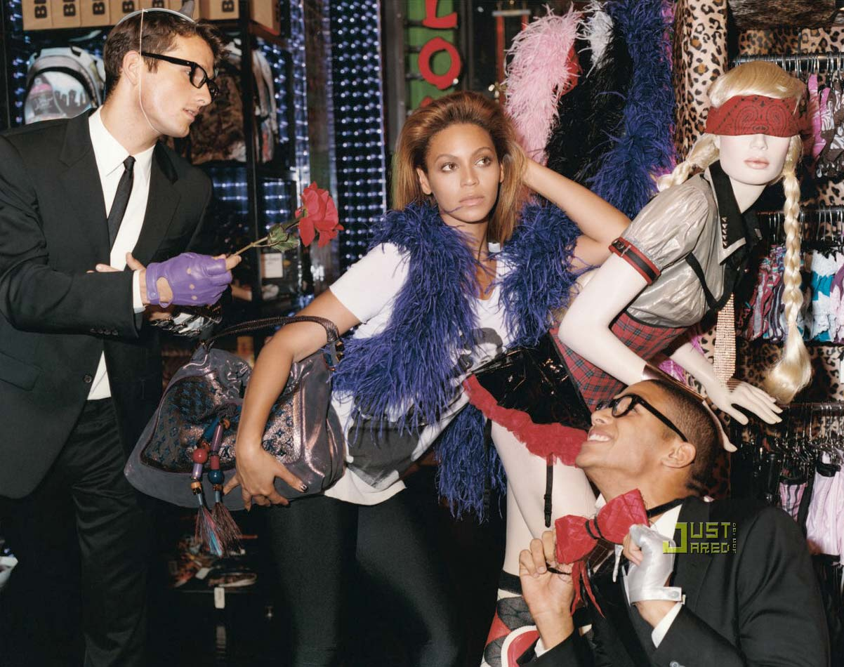 Beyonce V Magazine Nov Dec 2008 2
