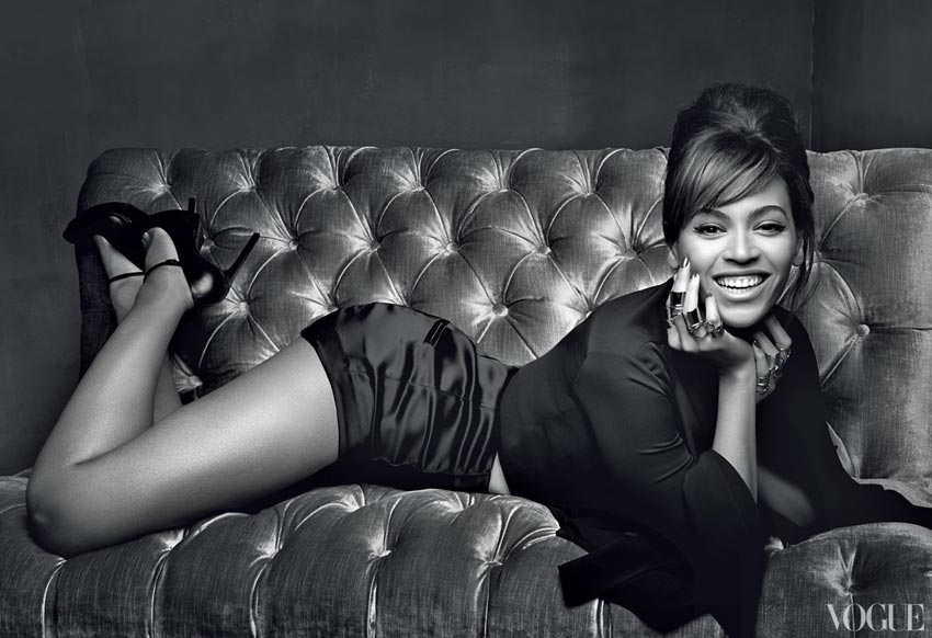 Beyonce Vogue March 2013 pictorial