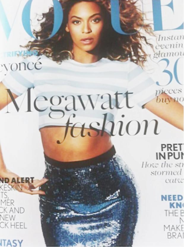 Beyonce Vogue UK May 2013 cover preview
