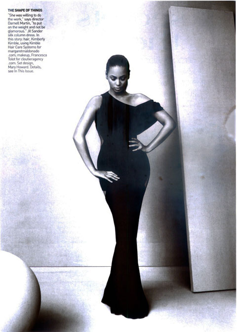 Beyonce Vogue US April 09