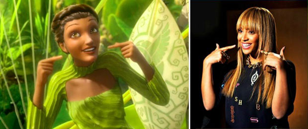 Beyonce voiced Epic Queen Tara