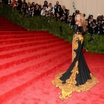 Beyonce wearing custom Givenchy 2013 Met Gala