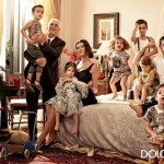 Bianca Balti family Dolce Gabbana Spring Summer 2014 ad campaign
