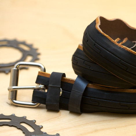Dare To Wear The Bike Tire Belts By Julien Jaborska?