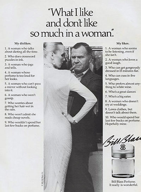 A Fashion Designer's Ideal Woman: Bill Blass