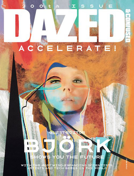 Bjork Is Dazed & Confused August 2011