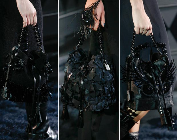 black bags Vuitton Spring Summer 2014