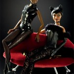 Black Barbie Vogue Italy July 2009 lingerie
