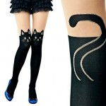 Dare To Wear These Black Cat Tights?