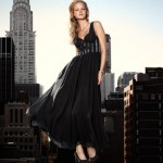 black maxi dress party H and M
