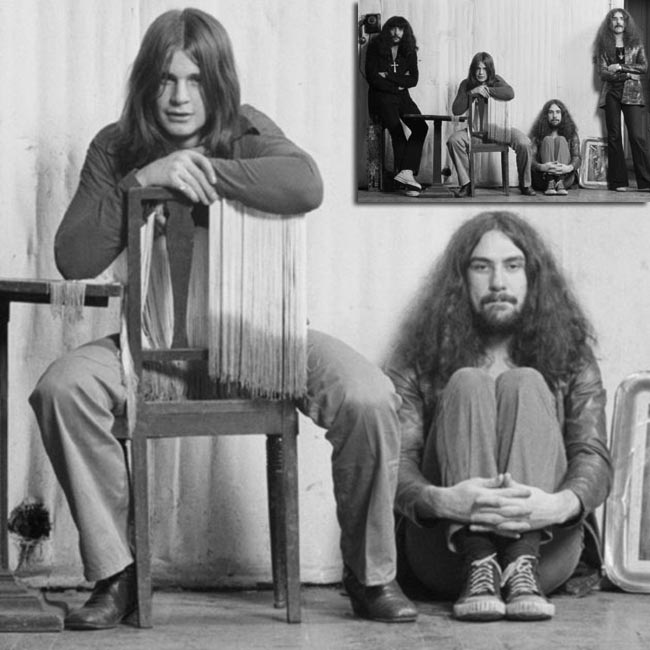 Black Sabbath original members wearing Converse