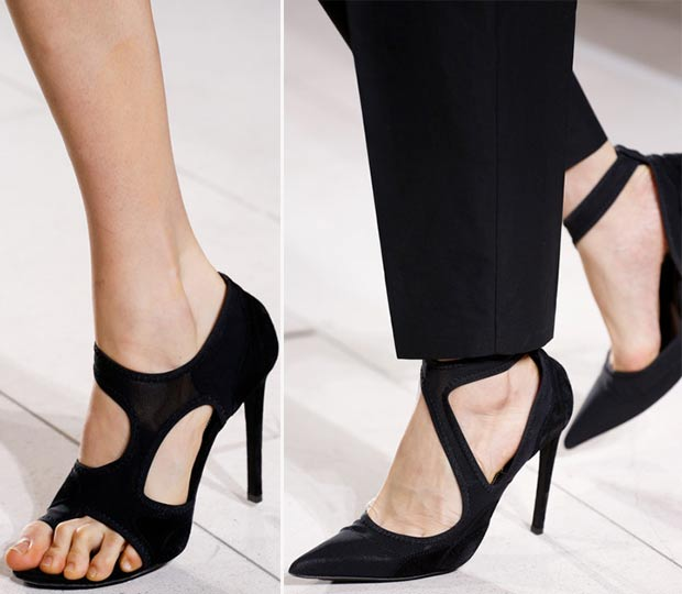 black shoes Spring 2014 Balenciaga