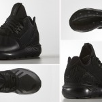 black sneakers Adidas Tubular runner wmns details