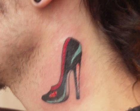 Black Stiletto tattoo