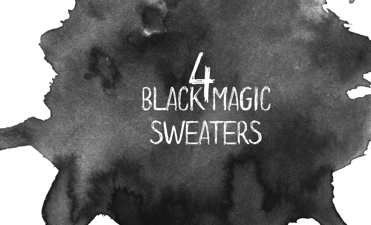 black sweaters you need