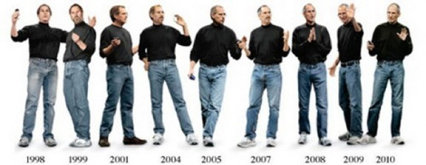 Blue Jeans, Black Turtleneck. Style Geek Par Excellence, Steve Jobs Has Died