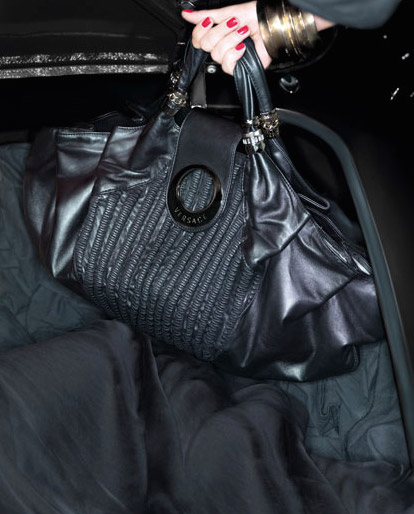 Black Versace bag Spring Summer 09