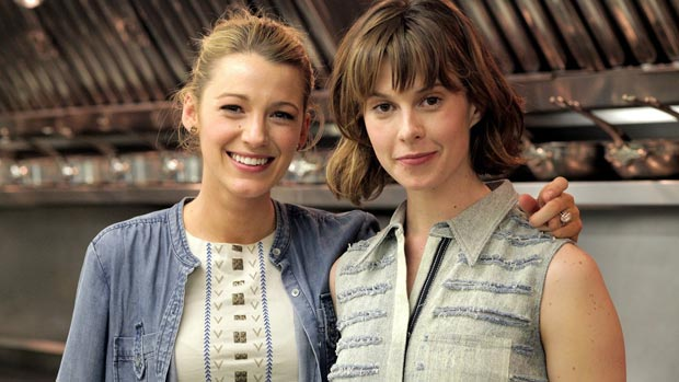 Blake Lively cooks with Elettra Wiedemann