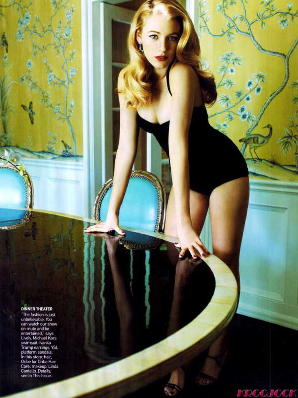 Blake Lively Vogue US February 3